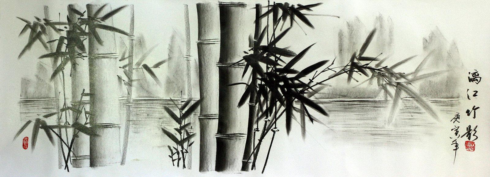 bamboo drawing - photo #26