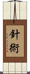 Acupuncture Vertical Wall Scroll